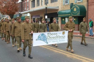 Ebony Doughboys Dover Delaware Veterans Day Parade 2015