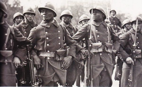 Image result for ww2 French Colonial infantry soldiers